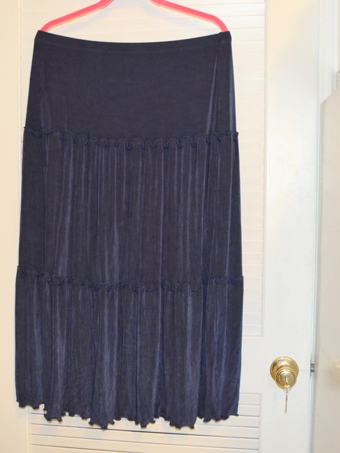 Citiknits Maxi Skirt Blue Image 6