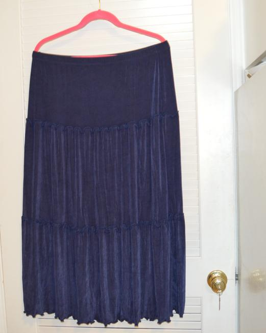 Citiknits Maxi Skirt Blue Image 9