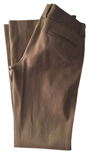 Banana Republic Trouser Work Bootcut Slacks Boot Cut Pants Taupe