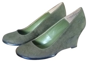 Urban Outfitters Green Wedges