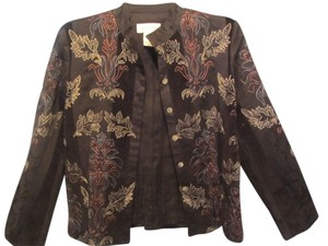 Susan Bristol black with embroidery Blazer