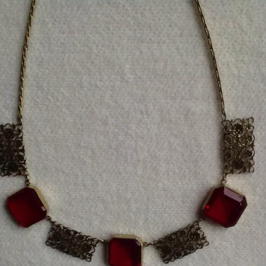 Other Brilliant Red Choker