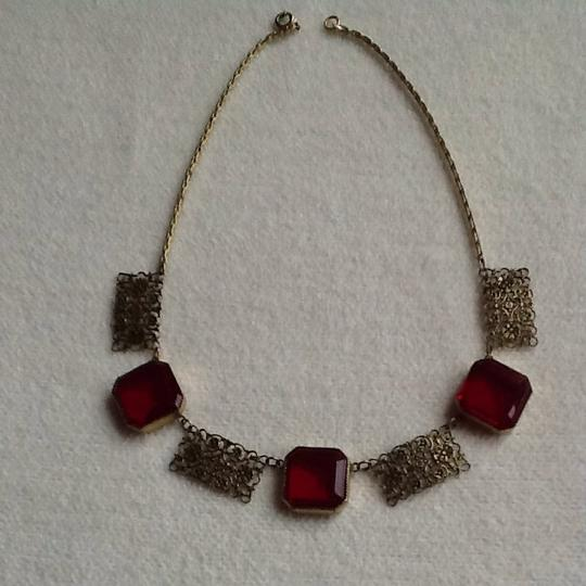 Other Brilliant Red Choker Image 3