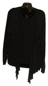 Citiknits Top Black/White