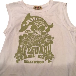 Juicy Couture Graphic Tee Hollywood Top White