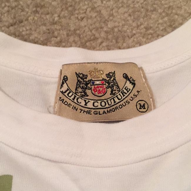 Juicy Couture Graphic Tee Hollywood Top White Image 1