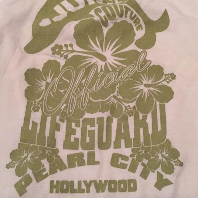 Juicy Couture Graphic Tee Hollywood Top White Image 2