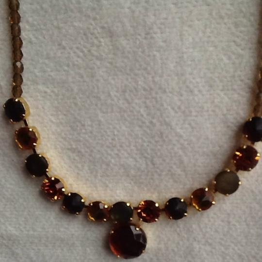Other Amber Faux Gold Necklace Image 1
