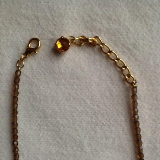 Other Amber Faux Gold Necklace Image 2