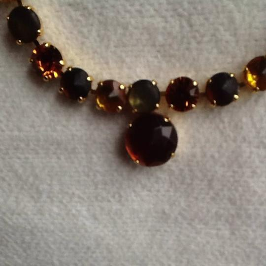 Other Amber Faux Gold Necklace