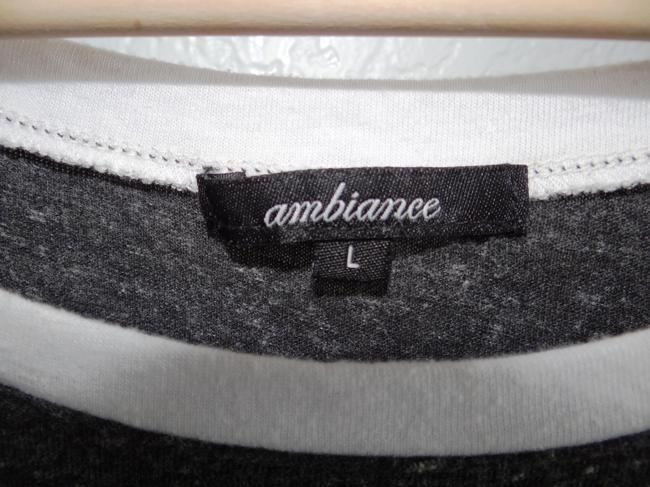 Ambiance T Shirt White, Gray