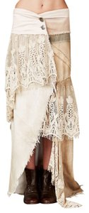 Free People Maxi Skirt Neutral