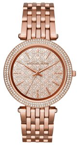 Michael Kors NWT Michael Kors Darci Rose Gold-Tone Bracelet Watch MK3399