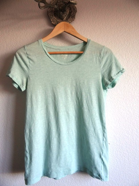 J.Crew T Shirt Sea-foam Blue