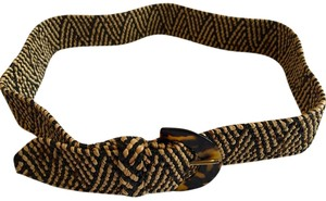 J.Crew Adjustable Tortoise Weave Belt
