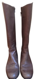 Corso Como Tall Inside Zipper Comfortable Leather taupe Boots