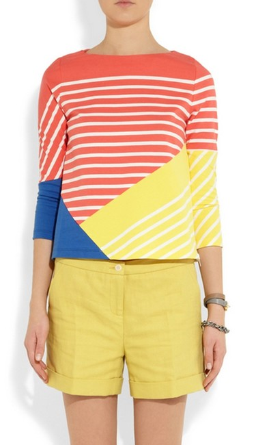 Band of Outsiders Breton Striped Color Block Sweater Band of Outsiders Breton Striped Color Block Sweater Image 2