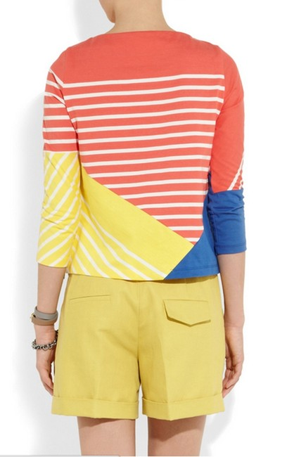 Band of Outsiders Breton Striped Color Block Sweater Band of Outsiders Breton Striped Color Block Sweater Image 3
