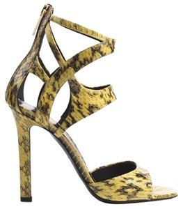 Tamara Mellon Jimmy Choo Yellow Sandals