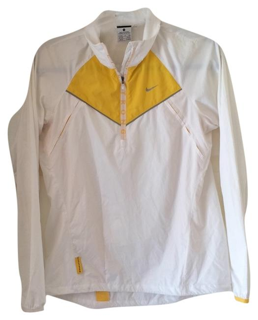 Item - White with Yellow Accents Livestrong Activewear Outerwear Size 4 (S, 27)