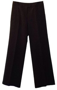The Limited Wide Leg Pants Dark gray w/white lines