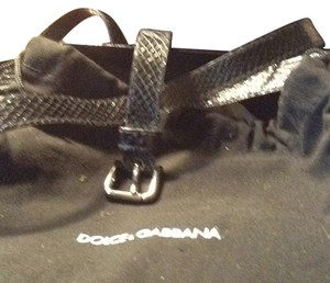 Dolce&Gabbana BLACK DOUBLE WRAP LEATHER WRAP BELT
