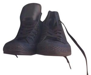 Converse Black Leather Finish Athletic
