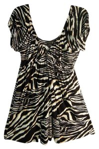 Forever 21 short dress animal print Fall on Tradesy