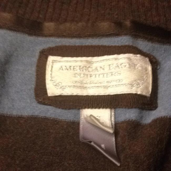 American Eagle Outfitters Striped Bold Stripe Contrast Longsleeve Sweater
