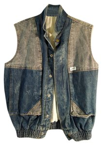 Guess By Marciano Patchwork Vintage Vest
