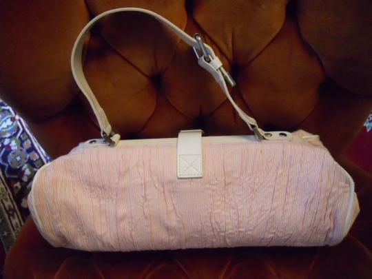 Cynthia Rowley Satchel in pink & white Image 1