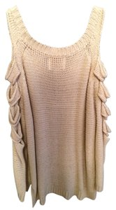 Aryn K. Cut-out Knit Sweater
