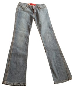 Ecko Straight Leg Jeans-Medium Wash
