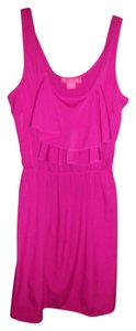 70s Up short dress Pink on Tradesy