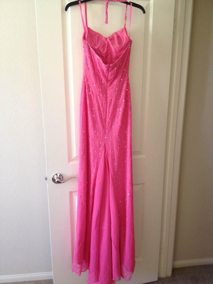 Jasz Couture Pink Designs By Adagio Bella Long Formal Dress Size 2 ...