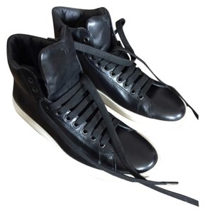 Tom Ford Sneakers Leather High Top Blac Athletic