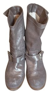 Jimmy Choo Metallic Boots