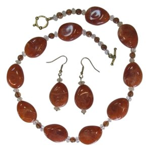 NEW SET PEAR SHAPED BEADS