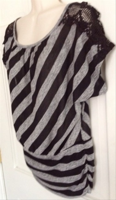IZ Byer California Top Black and Gray
