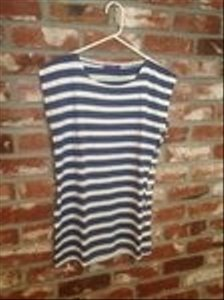Other T Shirt blue/white stripe