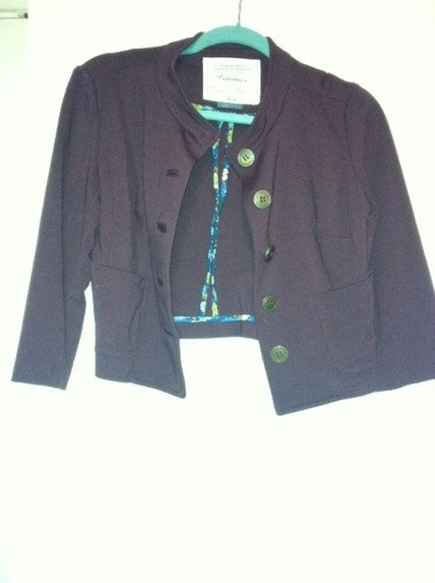 Anthropologie Cropped Military Jacket