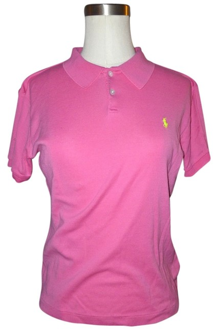 Ralph Lauren T Shirt Bright Pink