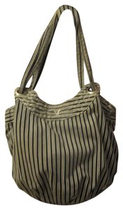 American Eagle Outfitters Tote in Navy/White Stripe