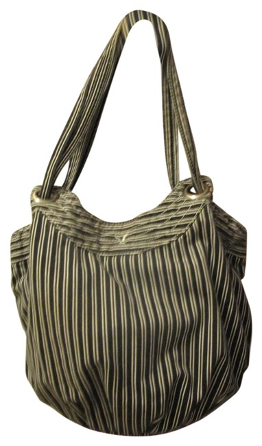 Item - Navy/White Stripe Cotton Tote