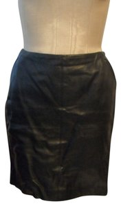 Linda Allard Ellen Tracy Skirt Brown