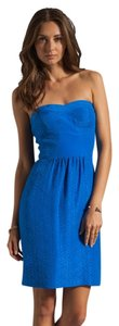 Rebecca Taylor short dress Cobalt Blue on Tradesy