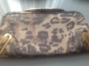 Brian Atwood Daphne Print Brand New Classic Leopard Clutch