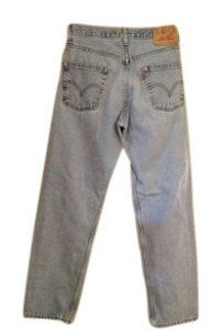 Levi's Colored Denim Relaxed Fit Jeans-Light Wash
