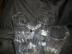 Clear Pitchers Plastic
