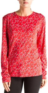Barbara Bui Long Sleeve T Shirt Red